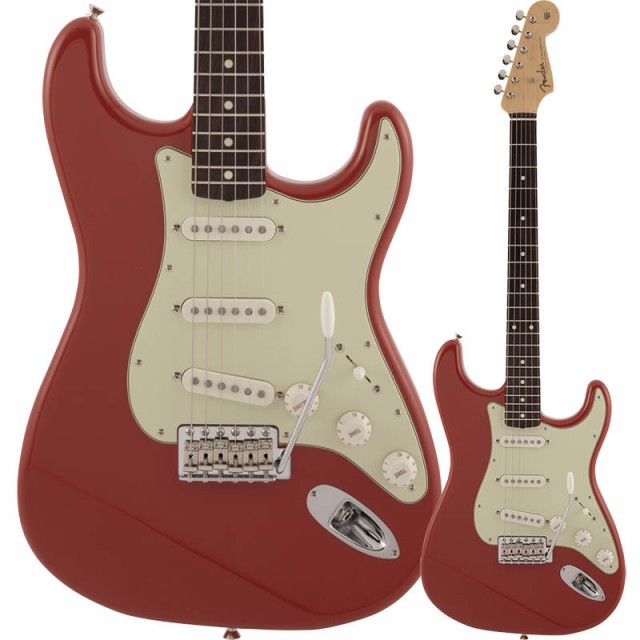 【破格値下げ】 Fender Made in Japan Traditional 60s Stratocaster, Rosewood Fingerboard, Fiesta Red【フェンダージャパンストラトキャスター】, 熊本市 4703fae7