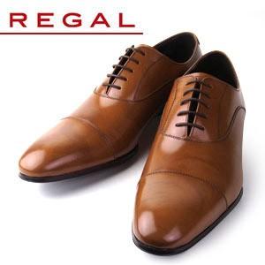 リーガル REGAL 靴 メンズ ビジネスシューズ 011R AL ブラウン ストレートチップ 内羽根式 紳士靴 日本製 2E 本革 特典B