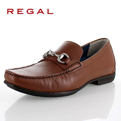 リーガル 靴 メンズ REGAL 57HRAF ブラウン カジュアルシューズ ビットローファー 2E 本革 紳士靴 特典