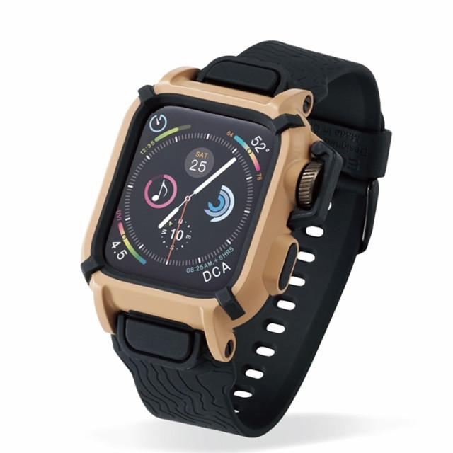 aa3be078e0 Apple Watch Series 4 44mm バンドケース カーキ アウトドア レジャー カバー ベルト タフ 保護 耐衝撃