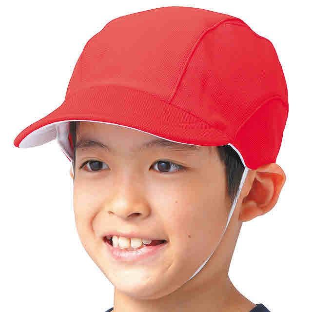 FOOT MARK 学校体育 紅白帽 体操...