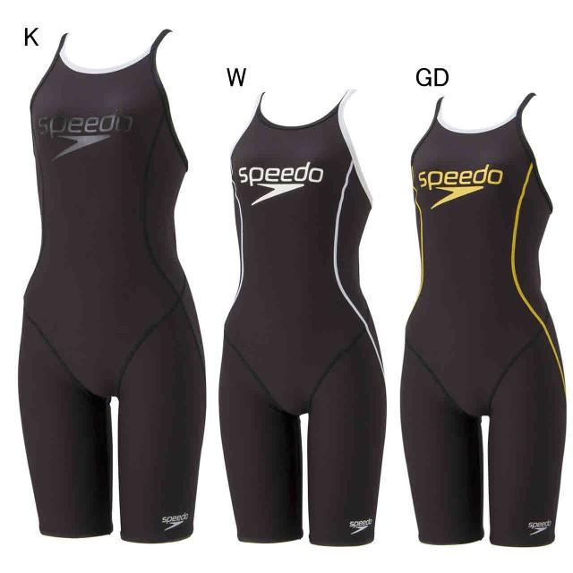 0ed734ec6b0 スピード 水泳 水球 競泳トレーニング用水着 Stack logo ウイメンズ スパッツスーツ speedo SD58N51