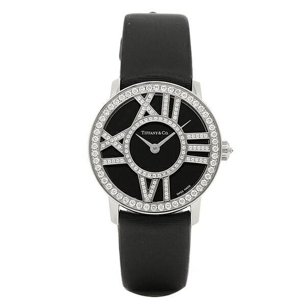 uk availability d3cc2 db3e8 ティファニー TIFFANY & Co 時計 レディース TIFFANY&Co Z19001040E10A40B ATLAS COCKTAIL  ROUND 腕時計 ウォッチ ブラック|au Wowma!(ワウマ)