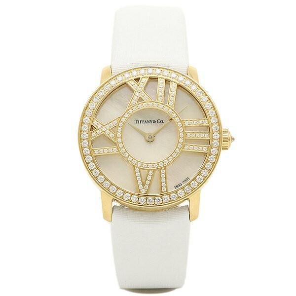 big sale f30f9 6e2bf ティファニー 時計 レディース TIFFANY&Co Z19001050E91A40B ATLAS COCKTAIL ROUND 腕時計 ウォッチ  ホワイトパール|au Wowma!(ワウマ)
