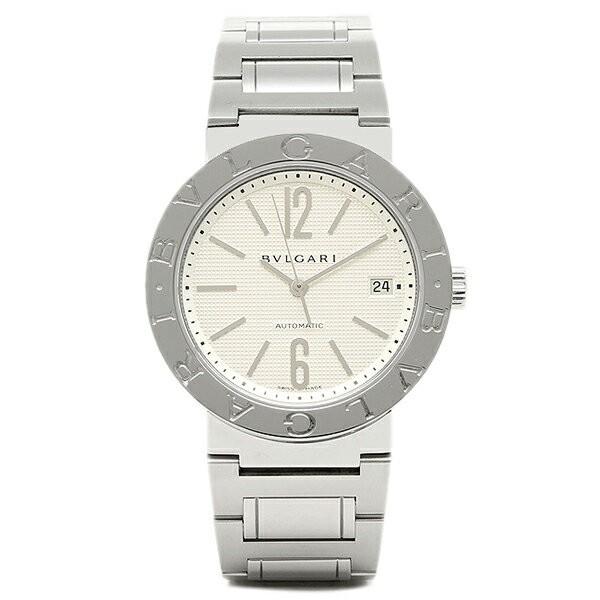 代引き人気 BVLGARI ブルガリブルガリ SSブレス ホワイト メンズ AUTO BB38WSSD/N ウォッチ 腕時計 シリアル有, R-one 7fd33cb2
