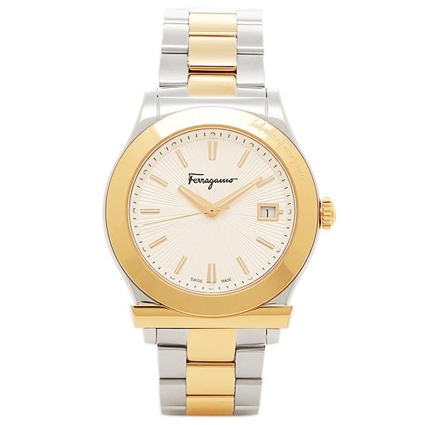 【国産】 フェラガモ 腕時計 レディース 腕時計 Salvatore Ferragamo FF3070014 FF3070014 レディース シルバー ゴールド, ニイカップチョウ:d21000be --- 1gc.de