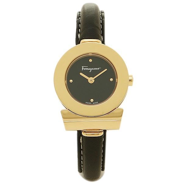 お見舞い フェラガモ 腕時計 レディース Salvatore Ferragamo FII070015 ブラック ゴールド, 良品百科 94b5e3e3