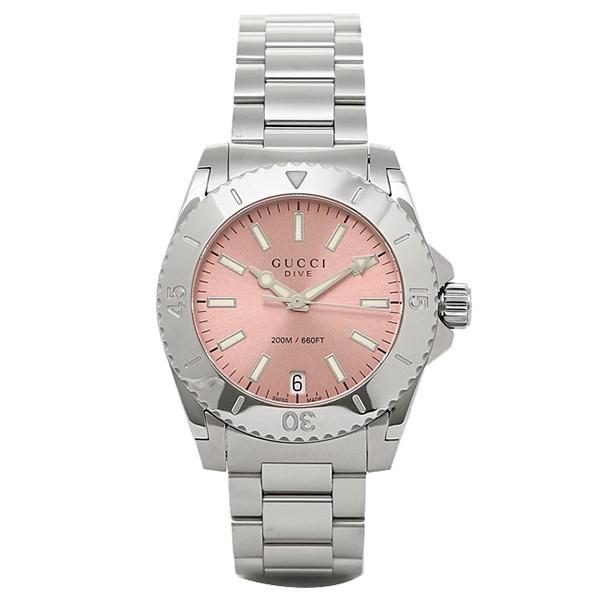 9f078f0732ea グッチ 時計 GUCCI YA136401 DIVE 腕時計 ウォッチ ピンク レディースの ...