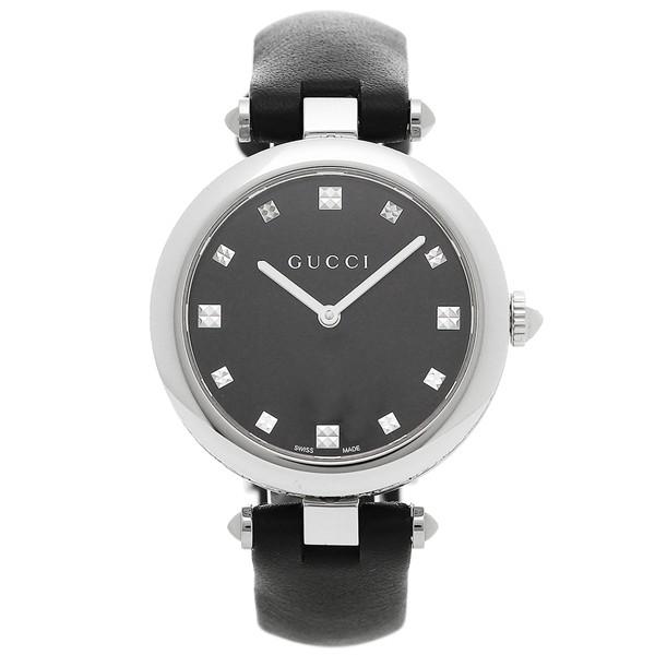 最愛 グッチ 腕時計 レディース GUCCI YA141403 ブラック シルバー, 一六本舗 b13d887c
