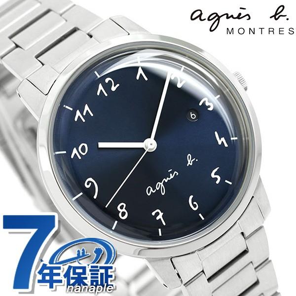 d6254ceee4 【あす着】アニエスベー 時計 マルチェロ メンズ 腕時計 FCRK990 agnes b. ネイビー