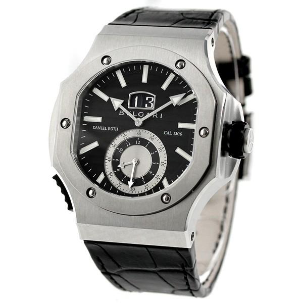 reputable site d1f91 b76e9 ブルガリ BVLGARI ダニエル ロート 自動巻き メンズ 腕時計 BRE56BSLDCHS ブラック|au Wowma!(ワウマ)