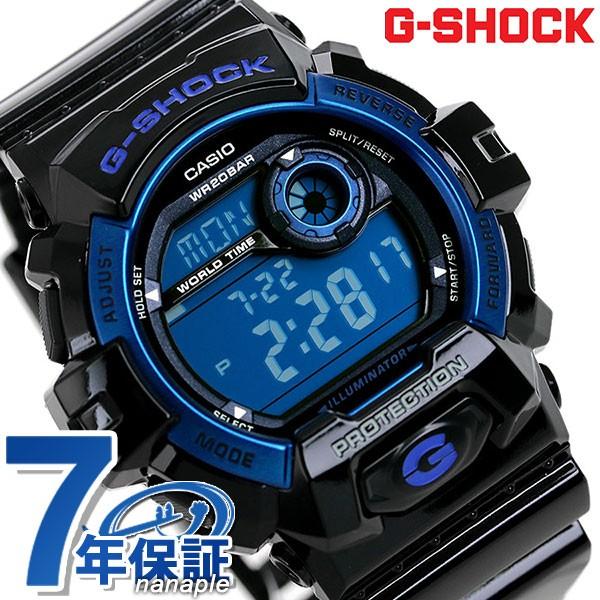 new york 3581c 363ee 【あす着】G-ショック ジーショック G-SHOCK スタンダードモデル ブラック×ブルー G-8900A-1DR|au Wowma!(ワウマ)