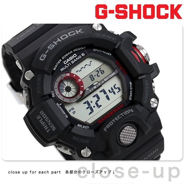 732a4a3674 【あす着】G-SHOCK 電波ソーラー腕時計 メンズ マスターオブG レンジマン ブラック カシオ g-ショック GW-9400-1DRの通販はWowma!(ワウマ)  - 腕時計のななぷれ|商品 ...