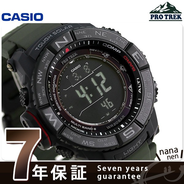 d676023f2f あす着】カシオ プロトレック 電波ソーラー メンズ 腕時計 PRW-3510Y-8ER ...