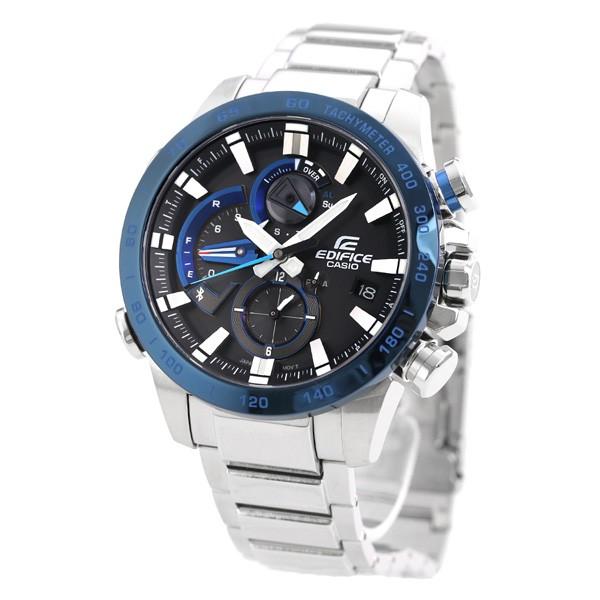 7f4716899f 【あす着】カシオ エディフィス メンズ 腕時計 Bluetooth モバイルリンク機能 EQB-800DB-