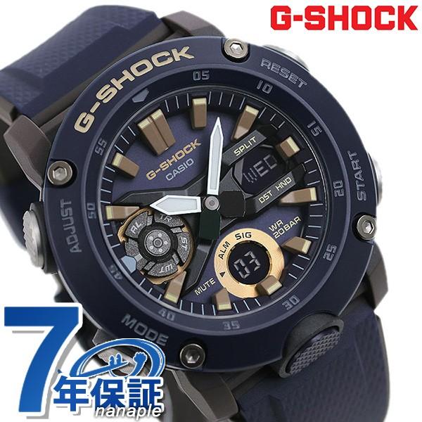 正規通販 【あす着】G-SHOCK Gショック GA-2000 アナデジ メンズ 腕時計 GA-2000-2ADR カシオ ネイビー, 曽根弓具店 9b86cd96