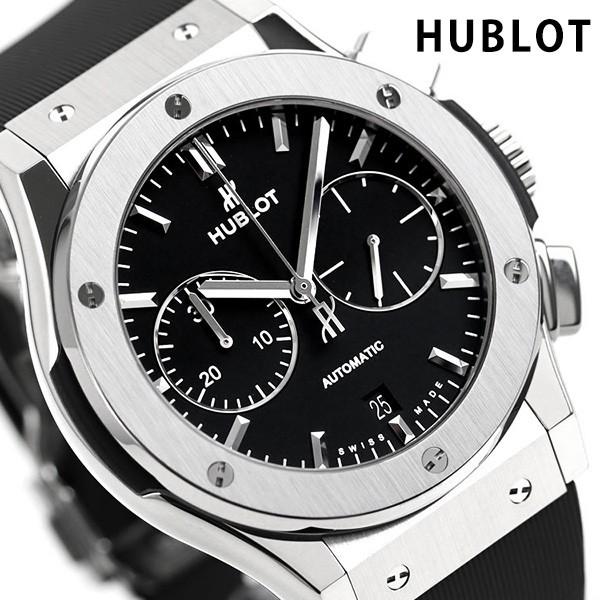 official photos cbe01 fe47a 【あす着】ウブロ クラシックフュージョン チタン 自動巻き 521.NX.1171.RX HUBLOT メンズ 腕時計 ブラック|au  Wowma!(ワウマ)