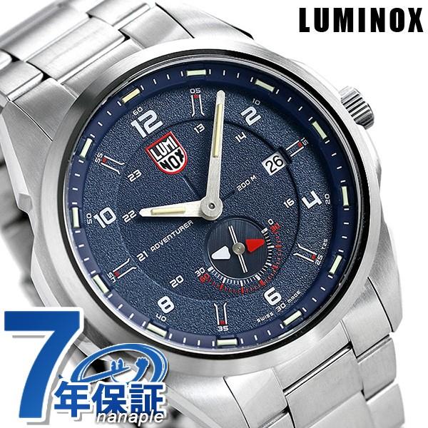 最先端 メンズ 45.5mm 1764 LUMINOX 1760シリーズ 時計 ブルー アドベンチャー 腕時計 【あす着】ルミノックス アタカマ フィールド-腕時計メンズ