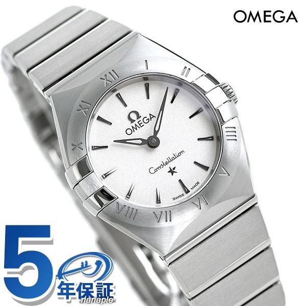 【NEW限定品】 シルバー 【あす着】オメガ クオーツ 25mm レディース マンハッタン 131.10.25.60.02.001 OMEGA 腕時計 コンステレーション-腕時計レディース