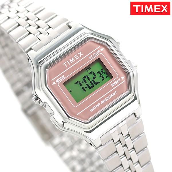 eecbb6de0a タイメックス 腕時計 レディース デジタル ストップウォッチ TW2T48500 TIMEX 時計 シルバー
