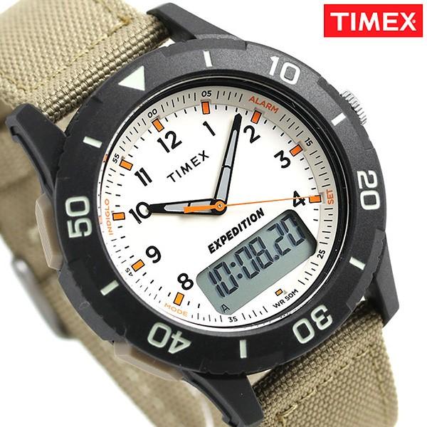 【在庫あり】 【あす着】タイメックス カトマイコンボ 43mm アナデジ メンズ 腕時計 TW4B16800 TIMEX アイボリー×カーキ, DAISHIN工具箱 29ed28e1
