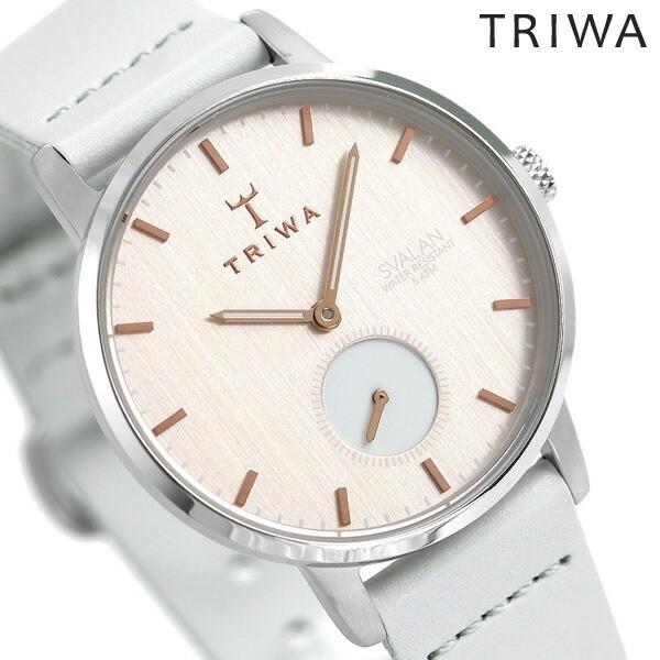 【在庫一掃】 【あす着】TRIWA トリワ 時計 スウェーデン 北欧 スモールセコンド 34mm レディース 腕時計 スバーラン SVST102-SS111512, さとうガラス工房 ArtGift店 d777ab9a