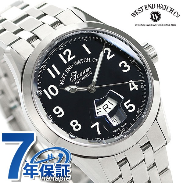 最新作 【あす着】ウエストエンド シルクロード 1 1 38mm 自動巻き メンズ メンズ 腕時計 38mm WE.SL1.38.BK.PA.B WEST END ブラック, さくら山楽器:cbe4c013 --- chevron9.de