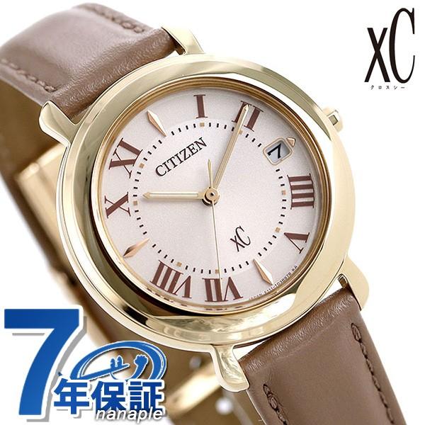 適切な価格 【あす着】シチズン クロスシー エコドライブ レディース 腕時計 EO1203-03A CITIZEN xC ヒカリコレクション ベージュ 革ベルト, 安井茂一郎商店 450acdb7