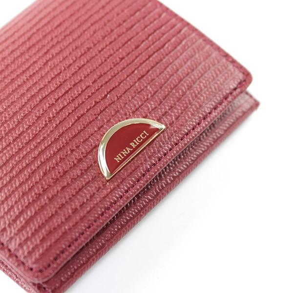 eb7b57b431bc ニナリッチ 財布 レディース 折財布 ボックス財布 折りたたみ ブランド ルーンパース