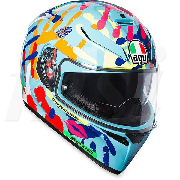agv k 3 sv ヘルメット misano 14 ミサノの通販はwowma ワウマ