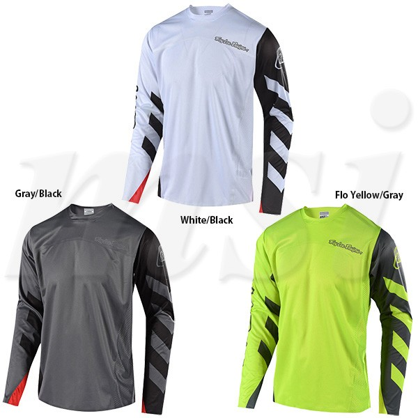 7ea7115e3 Troy Lee Designs Sprint Elite Long-Sleeve Jersey - Mens Escape Gray  Black