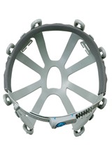 【タニザワ】 PE素材ヘルメット ST#0141-EZ (ライナー入)【安全用・工事用・高所作業用・防災】
