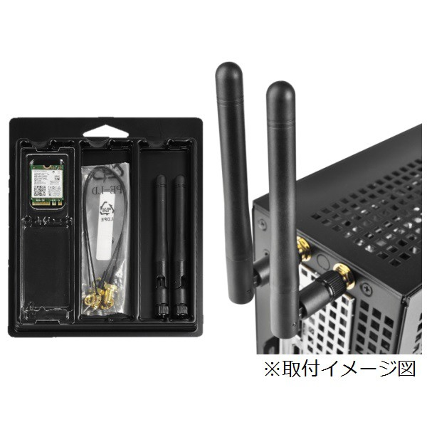 ASRock DESKMINI WIFI KIT (3168) WiFIキット DeskMini A300/310/110 用|au  Wowma!(ワウマ)