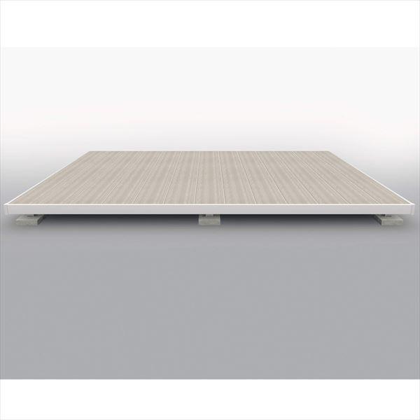 【驚きの値段】 三協アルミ 屋外フローリング ラステラ 標準納まり 束柱・固定 シングルフレームタイプ 2.0間×10, プラッツティーズ 83bf2b4f