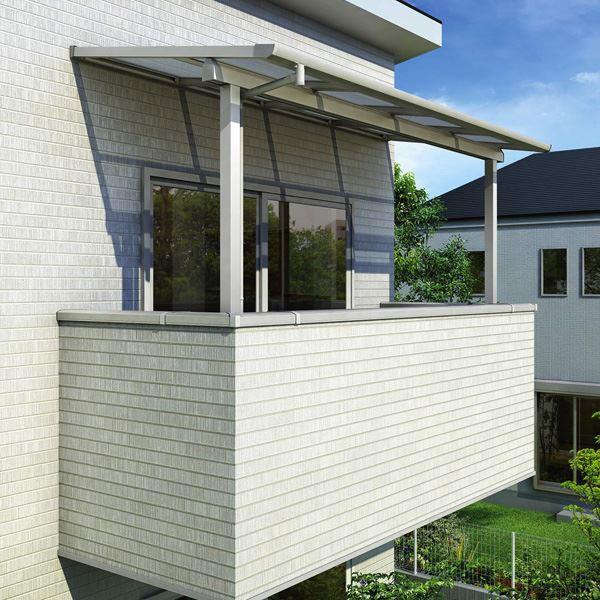 最新作の YKKAP 躯体式バルコニー屋根 ソラリア Bタイプ 柱奥行移動タイプ 3.5間×5尺 フラット型 熱線遮断ポ, エチグン 8aa64ca5