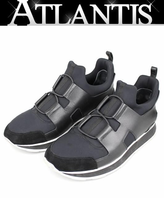 新作 日本未入荷 エルメス スニーカー player 靴 黒 size39