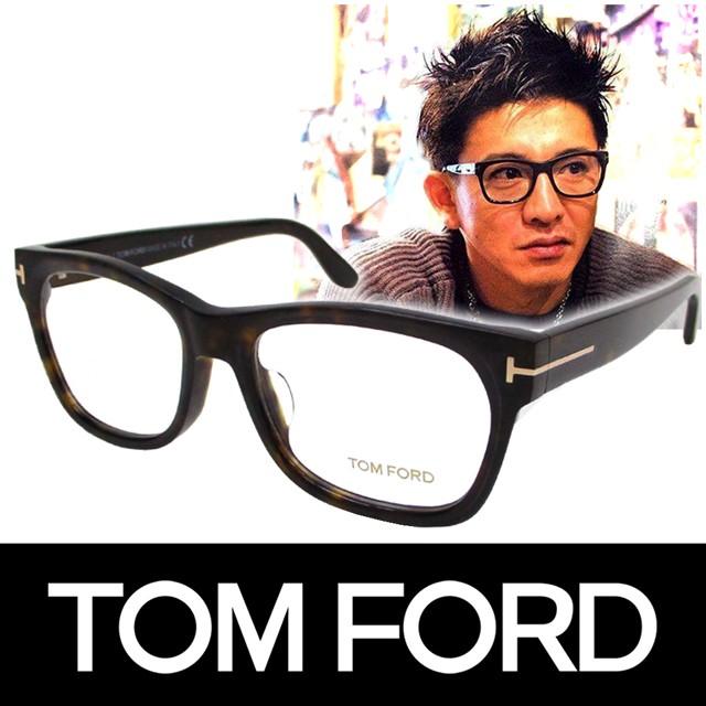 f33c508c64 TOM FORD トムフォード だてめがね 眼鏡 伊達メガネ サングラス アジアンフィット キムタク着用モデル
