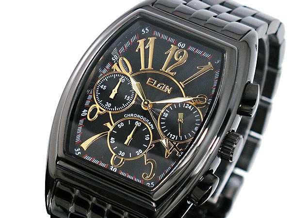 d99a70107f 腕時計 メンズ エルジン ELGIN クロノグラフ FK1215B-Bの通販はWowma ...