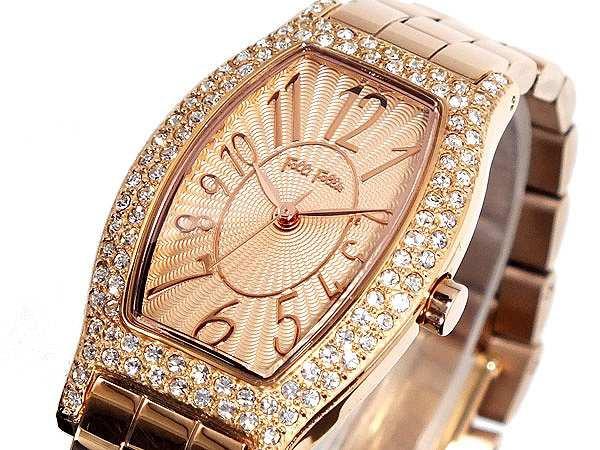 驚きの価格が実現! 腕時計 レディース フォリフォリ FOLLI レディース FOLLIE FOLLIE WF5R084BPP FOLLI ピンクゴールド, 余市郡:678a7e06 --- flicflachockey.de