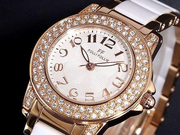 素晴らしい外見 腕時計 腕時計 レディース フォリフォリ FOLLIE フォリフォリ FOLLI FOLLIE WF9B020BPS, CDメガネのサウンドエース:2575894d --- 1gc.de