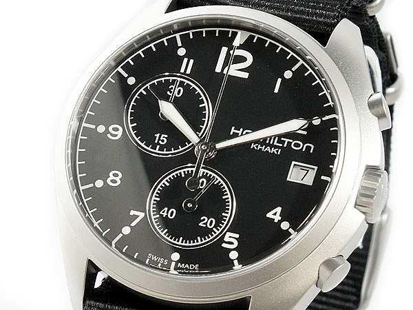 【誠実】 腕時計 メンズ ハミルトン HAMILTON カーキ パイロット H76552433 ブラック, 全国地酒地焼酎 松田酒店 9bb43f55