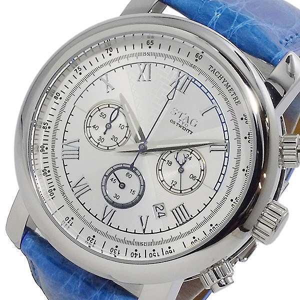 世界の 腕時計 クオーツ メンズ スタッグ Line STAG Executive Line 日本製 クオーツ クロノ 日本製 STG010S1 ホワイト, Pandoor:5a39a46a --- 1gc.de