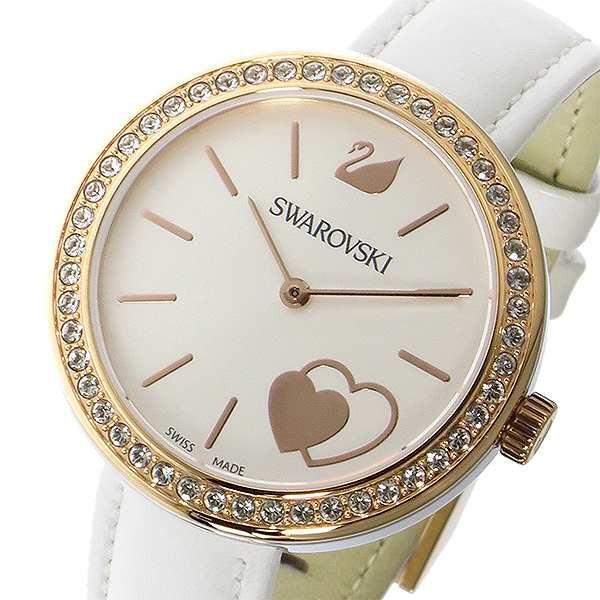 【新作入荷!!】 腕時計 レディース スワロフスキー SWAROVSKI クオーツ 5179367 ホワイト ホワイト, Luna-Nimes STORE a061d100
