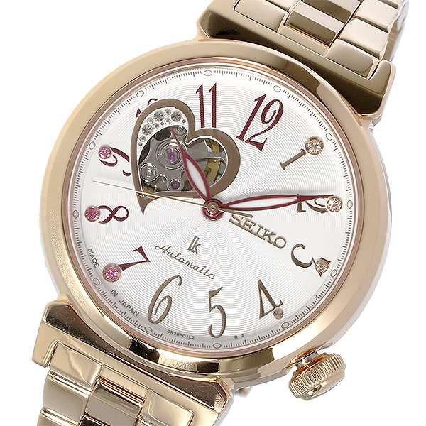 優れた品質 腕時計 レディース セイコー SEIKO SSA834J1 ルキア LUKIA 自動巻き SSA834J1 レディース LUKIA ホワイト ホワイト, 八坂村:aed1c6f8 --- 1gc.de