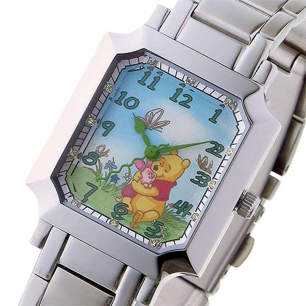 登場! レディース Watch クオーツ ディズニーウオッチ MC-1612-PO Disney マルチカラー プーさん 腕時計-腕時計レディース