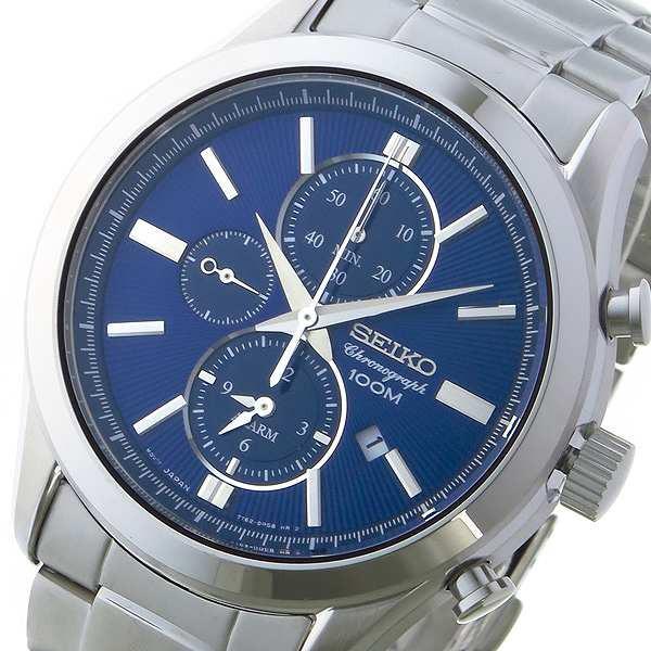 お手頃価格 腕時計 メンズ セイコー SEIKO クロノ クオーツ SNAF65P1 ネイビー ネイビー, 景品とギフトの専門店マイルーム 8d196e8a