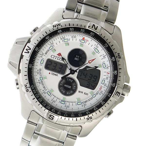 ★大人気商品★ 腕時計 メンズ シチズン JS1040-51A デジタル CITIZEN シチズン デジタル クオーツ JS1040-51A ホワイト ホワイト, ノダガワチョウ:53156d51 --- 1gc.de