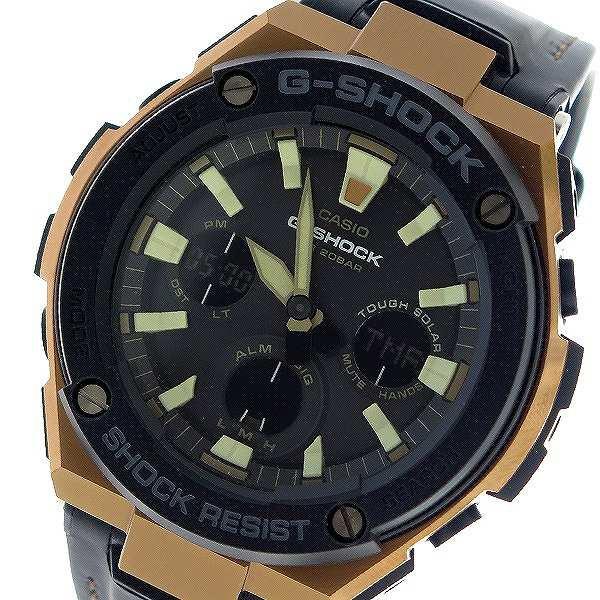 開店祝い GST-S120L-1A G-SHOCK メンズ クオーツ ブラック 腕時計 Gショック ブラック カシオ CASIO-腕時計メンズ