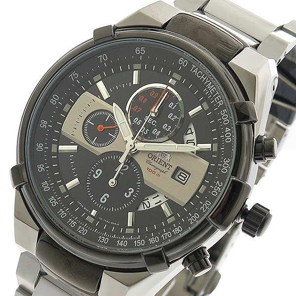 スペシャルオファ 腕時計 メンズ オリエント ORIENT FTT0J001B0 クォーツ ブラック シルバー ブラック, 名入オリジナルギフトショップ旨安 d8197d7b