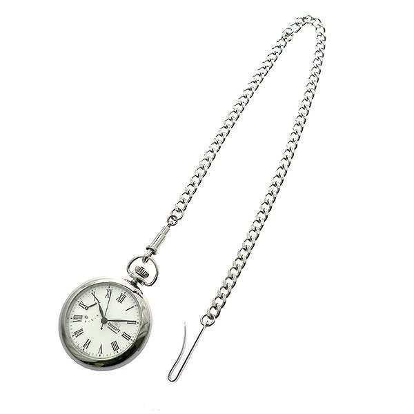 注目の 懐中時計 オリエント ORIENT WV0031DD 自動巻き ホワイト 国内正規 ホワイト, Funny Jinx fda4bae1